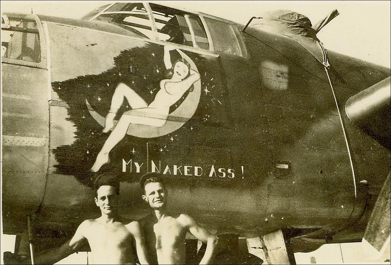 Description: Description: b25_nose_my_naked_ass