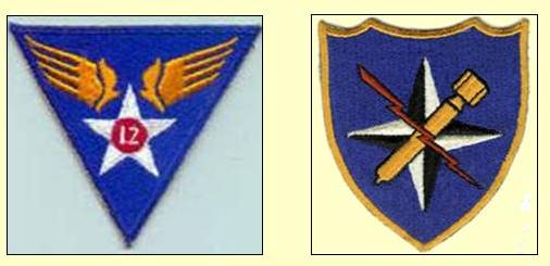 Description: _12th_AF_340th_BG_Emblems